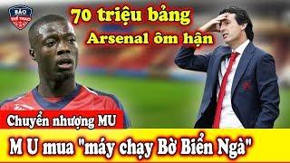 Download 🔥Chuyển Nhượng MU: M U Quay Sang ″cà khịa″ Arsenal mua ″máy chạy Bờ Biển Ngà″ Video