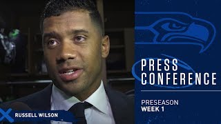 Download Seahawks Quarterback Russell Wilson Postgame Press Conference Video