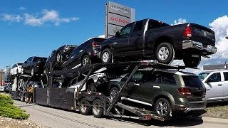 Download AUTO TRANSPORT CARRIER #04 - Chrysler, Dodge, Jeep, RAM. Real Time Unload: 32 Min. Video