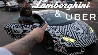 Download Driving my Uber 800 HP Lamborghini Huracan. Funny Supercar Reactions! Video