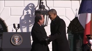 Download François Hollande: ″It's cold in Washington″ - 11/02 Video