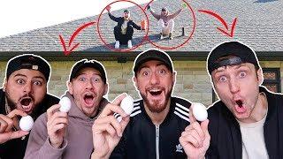 Download Insane Egg Drop Science Experiment Challenge! Video