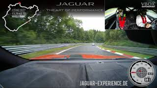 Download Nurburgring Jaguar F Type SVR Ring Taxi Ian Video