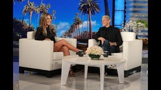 Download Jennifer Aniston's First Text During Her Plane Scare Was from Ellen Video