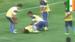 Download Goal celebration death: Indian soccer player dies after breaking his neck Video
