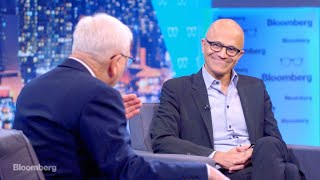 Download The David Rubenstein Show: Satya Nadella Video