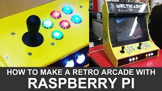 Download How to make a DIY Raspberry Pi Arcade Cabinet! Video