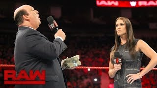 Download Paul Heyman addresses Brock Lesnar's actions at SummerSlam: Raw, Aug. 29, 2016 Video