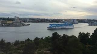 Download M/S Silja Serenade, M/S Romantika, M/S Galaxy, and others at ports in Stockholm. Video