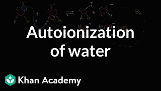 Download Autoionization of water   Water, acids, and bases   Biology   Khan Academy Video