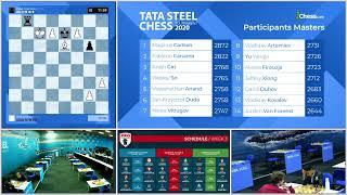 Download Tata Steel Chess Round 8 with GM Peter Leko and IM Sopiko Guramishvili Video