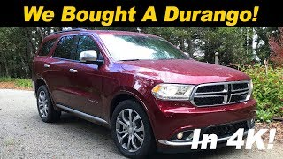 Download Why I bought a 2018 Dodge Durango (2018 Durango Review) Video