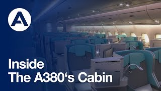 Download Inside the A380's cabin Video
