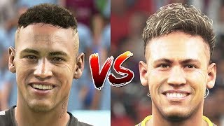 Download FIFA 18 New Face Updates vs PES 18 (November Update) Video