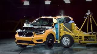 Download 2018 Volvo XC40 crash test Video
