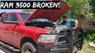 Download RAM 3500 CUMMINS Broke Down! Absolute Nightmare! Video