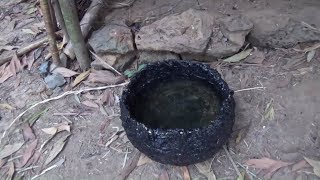Download Primitive Life-Make A Bucket and Find Meat!-Primitive Technology used Video