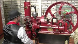 Download Ruston Hornsby Gas (oil) Engine startup Video