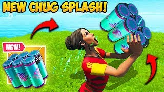 Download THE CHUG SPLASH IS AMAZING! - Fortnite Funny Fails and WTF Moments! #592 Video