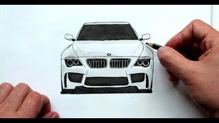 Download Как нарисовать Машину Бумер BMW Любительская работа(Ehedov Elnur)Wie man ein Auto BMW zieht Video