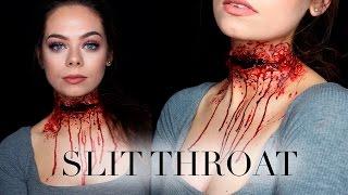 Download SLIT THROAT - SFX Makeup Tutorial Video