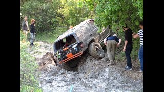 Download JEEP WRANGLER & JEEP GC vs LAND ROVER DISCOVERY **OFF ROAD 4x4 CHALLENGE** Video