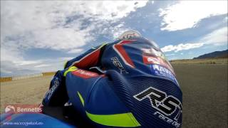Download Bennetts Suzuki - Onboard the Suzuki GSXR 1000 with Taylor Mackenzie Video
