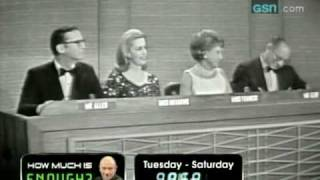 Download Gorgeous Airplane Saleswoman on ″What's My Line?″ Video