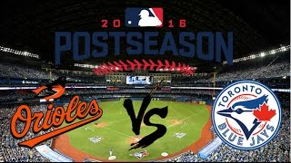 Download 2016 AL Wild Card Highlights | Orioles vs Blue Jays Video