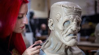 Download How Lifelike FX Creature Masks are Made Video
