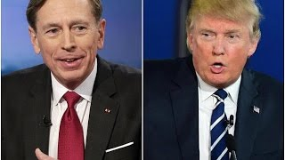 Download Trump Considers Disgraced General Petraeus For Secretary Of State Video