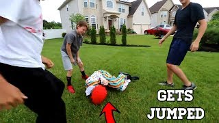 Download I JUMPED A KILLER CLOWN! *HE TRIED TO KILL ME* Video