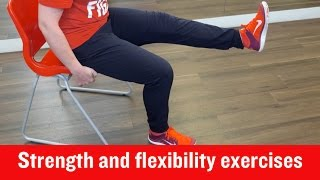 Download British Heart Foundation - Strength and flexibility exercises Video