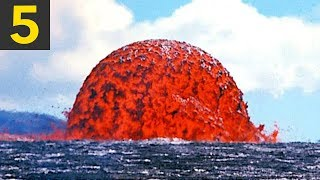 Download Top 5 Lava VS Water Videos Video