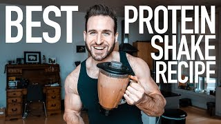 Download HOW TO MAKE A PROTEIN SHAKE | BEST CHOCOLATE PROTEIN SHAKE RECIPE Video