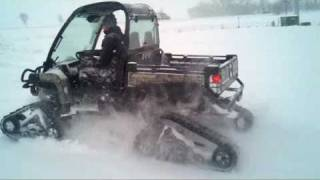 Download 825i Gator with Tracks & Big Snow Excursion Video