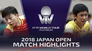 Download Ma Long vs Tomokazu Harimoto   2018 Japan Open Highlights (1/4) Video