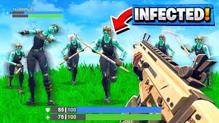 Download *BEST* INFECTED-ZOMBIE Custom Gamemode in Fortnite Playground V2 Mode! (Battle Royale) Video