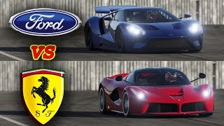 Download NEW! 2017 Ford GT vs LaFerrari - TOP GEAR track battle! Video