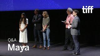 Download MAYA Cast and Crew Q&A | TIFF 2018 Video