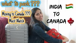 Download What to pack while immigrating to Canada - PR I Student II Things to bring while moving to Canada Video