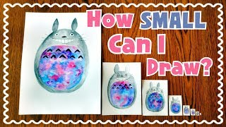 Download ☆ Teeny Weeny Art CHALLENGE || How Small Can I Draw? ☆ Video