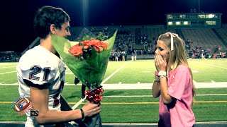 Download 😍😍 CUTEST HIGH SCHOOL FOOTBALL PROMPOSAL, EVER🌹 | BOWIE HS - FANSTAND '15 Video