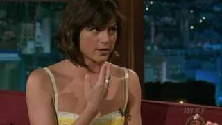 Download Selma Blair on Craig Ferguson 2009.07.13 (HQ) Video