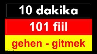 Download 10 DAKİKADA 101 ALMANCA ÖNEMLI FIIL KELİME ÖĞRENİYORUZ | almanca fiiller Video