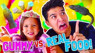 Download GUMMY vs. REAL FOOD! ft Princess Gorgeous Video