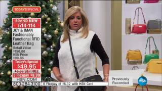 Download HSN | Joy & IMAN: Fashionably Functional 12.03.2016 - 06 AM Video