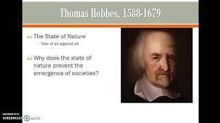 Download Hobbes and the State of Nature Video