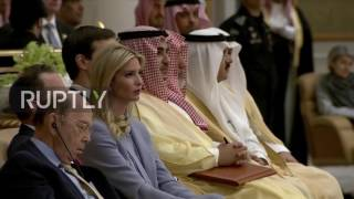 Download Saudi Arabia: Is Wilbur Ross napping during Trump speech? Video