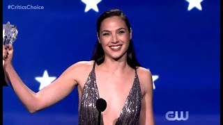 Download Gal Gadot Receives The #SeeHer Award (Critics Choice 2018) Video